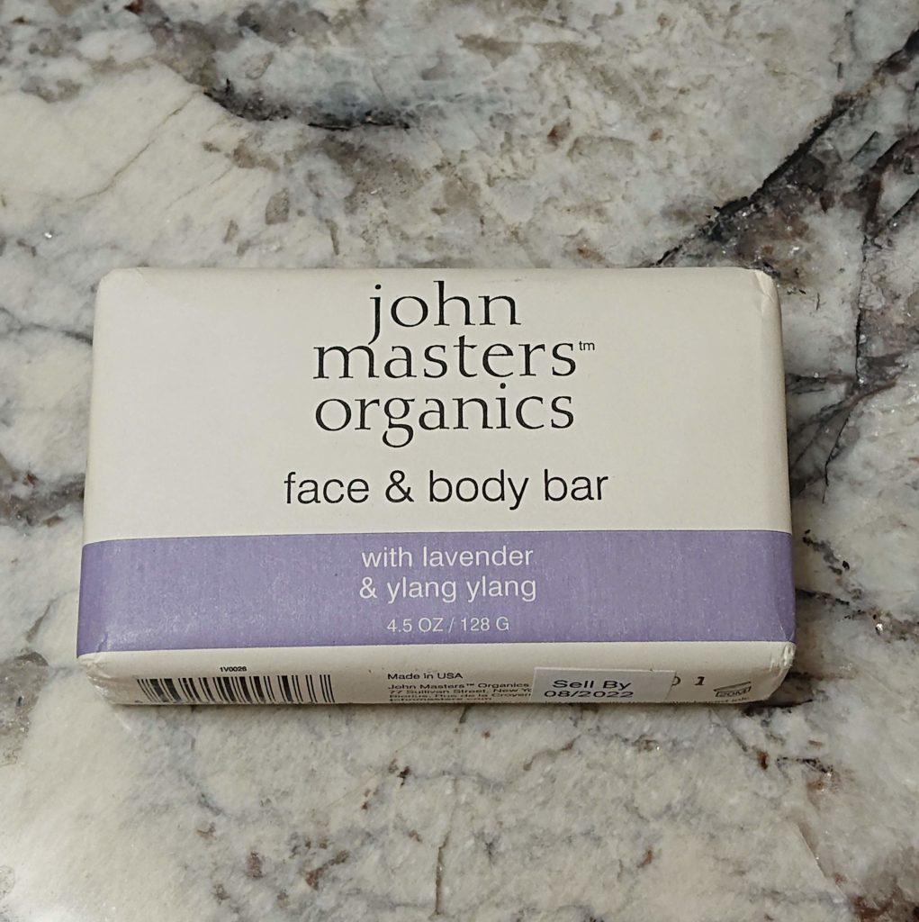 ジョンマスターオーガニックの石鹸の使い心地
