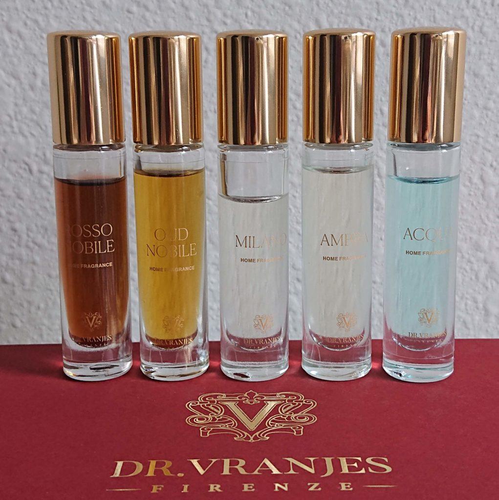 Dr.Vranjes(ドットール・ヴラニエス)のディフューザー人気の香りを比較